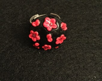 "Ring ""hard flowers"""