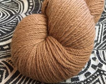 natural caramel australian 4/5 ply alpaca yarn