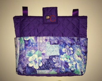 Purple Passion Walker Bag for Rollators