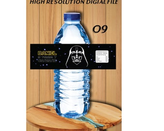 Star Wars Water Bottle Labels, Star Wars Birthday Labels, Star Wars Bottle Labels - Star Wars Printables - Star Wars Birthday Invitations #9
