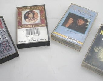 Willie Nelson Cassette Collection of 4