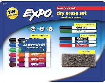 EXPO 18-Pc. Dry Erase Set