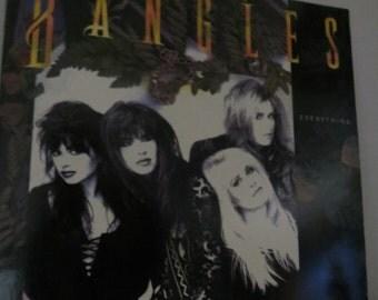The Banglesn Everything LP, Vinyl Record Album, VG