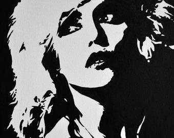 Blondie Original Painting