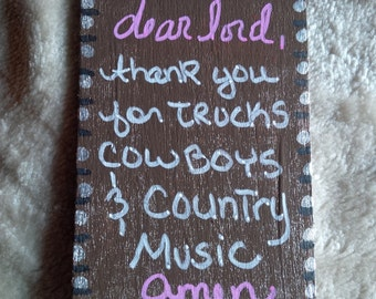 Thank God for Country Music Magnet