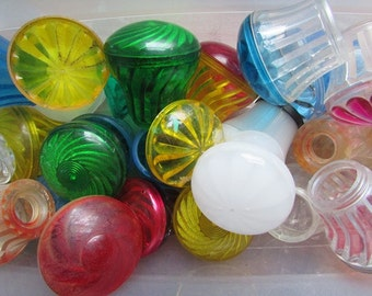 Vintage Carnival Light Cover Choose One Colored Light Cover