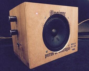 Illusion's Guitar Amplifier 5W Custom Shop Cigar Box Amp