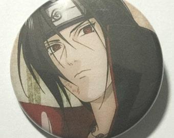 Naruto ITACHI UCHIHA Button Anime