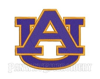 9 Size Auburn Tigers Logo Embroidery Designs, Machine Embroidery Designs, College Football Embroidery Designs - INSTANT DOWNLOAD
