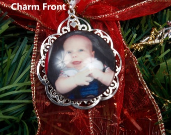 Baby's First Christmas Ornament, My First Christmas Ornament, Personalised Christmas keepsake, Ornament Keepsake, Photo Ornament Keepsake.