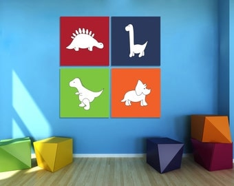 Dinosaur Wall Art, Dinosaur Nursery Decor, Dinosaur Canvas Art, Printable  Art, Baby Part 35