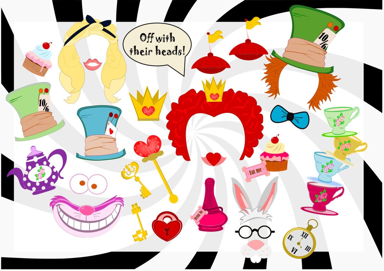 Alice In Wonderland Decoration Alice In Wonderland Props Etsy