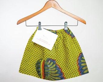 Toddler girl Easter skirts, Girl toddler African clothing, Baby girl skirts, African skirts for toddler girl