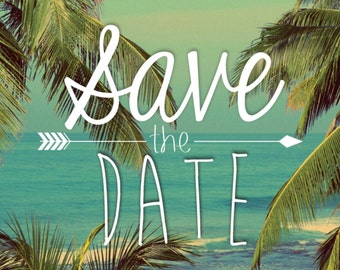 Save the Date - Aloha!