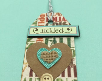 Gift tag Tickled
