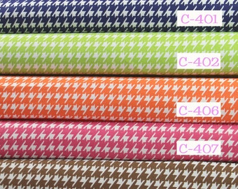 Houndstooth fabrics by the yard