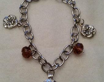 Essential Oil Charm Bracelet