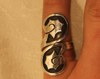 Vintage Mexican Ring Size 6 (Adjustable)
