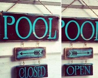 Pool closed/open