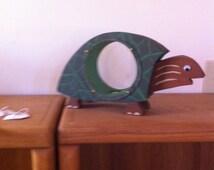 Turtle piggy bank