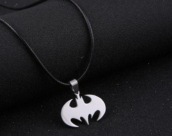 Batman leather collar