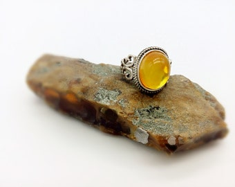 10*13mm baltic amber ring, amber jewlry, silver ring, one of a kind amber ring, sterling silver ring, gift for her