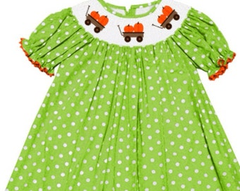 SALE**** Fall Smocked Dress