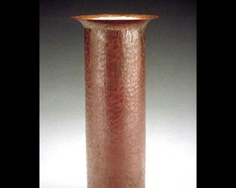 """F.L.W. Russian Copper Vase - 9"""""""
