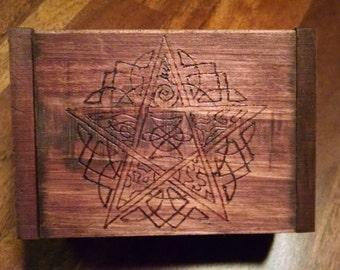Wooden wishing box