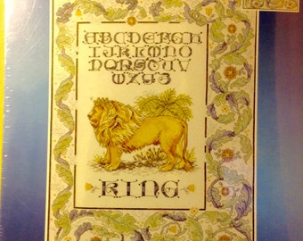The king.    Counted cross stitch kit