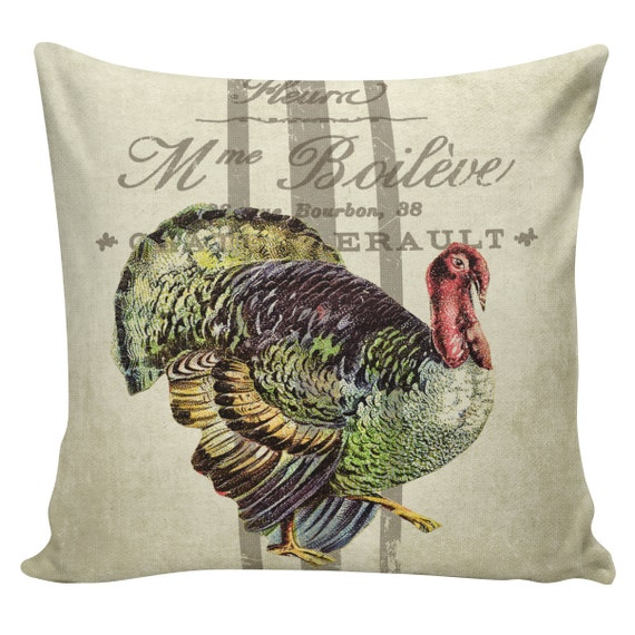 Thanksgiving Turkey Pillow Covers Thanksgiving Wikii