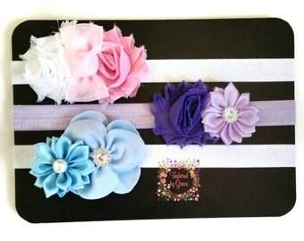 Baby Headband/Baby Headband Set/Newborn Headband/Newborn Headbands Gift Set/ Pack Newborn Headbands/ Baby Girl Gift Pack/Newborn Gift Set