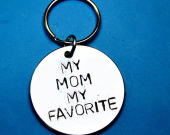 Mom gift, Mothers day gift, favorite, GIFT IDEA, Mothers gift, gift for mother, mothers keychain, personalised keychain,personalised gift Uk