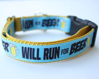 Will Run for Beer Collar