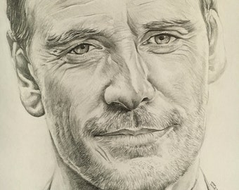 Michael Fassbender ORIGINAL Portrait