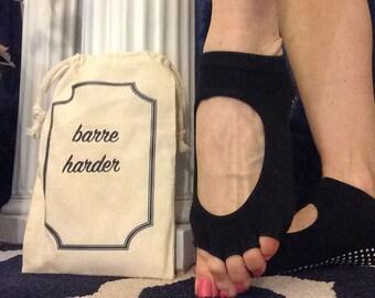 Adorable Barre Sock Bags!