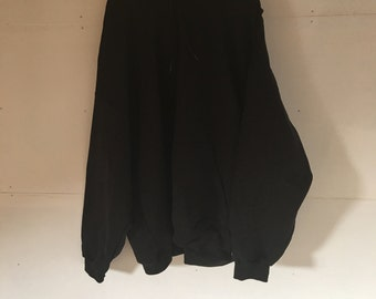 Champion 4XL Baggy Black Hooded Sweatshirt