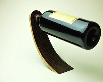 Modern Wine Bottle Holder Bent Plywood