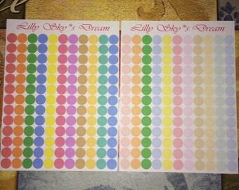 Dots Rainbow/Pastel Little