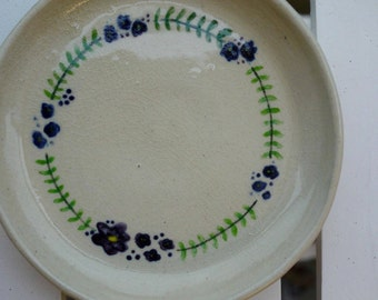 Hand-painted Ceramics Plate