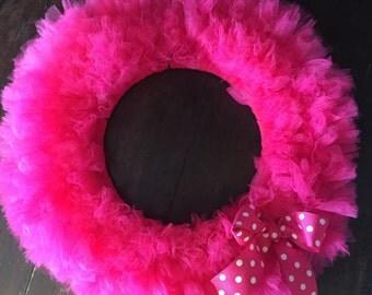 Pinkalicious Wreath