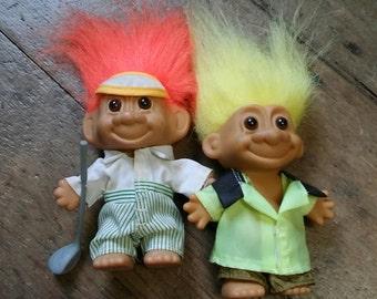 Retro troll doll bundle