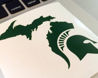 Michigan Spartan Decal