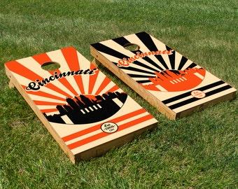 Cincinnati Bengals Cornhole Board Set with Bean Bags