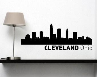 Cleveland Mural Etsy - Custom vinyl decals cleveland ohio