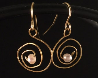 Earrings Fresh Water Pearls