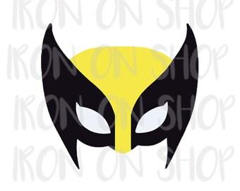 X-Men Wolverine Iron-on Transfer