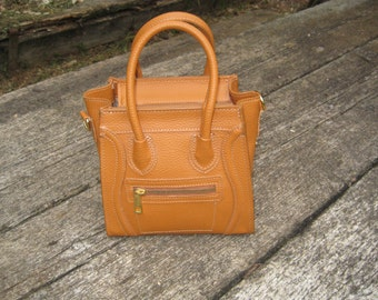 Small Bag-Small Leather Bag Real Leather Made In Italy
