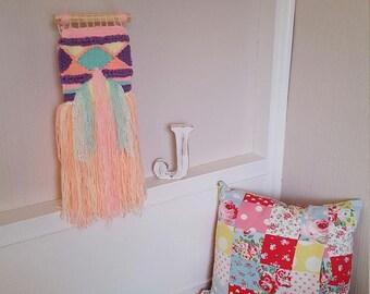 Small Weave Wall Hanging / Decorative Wall Art