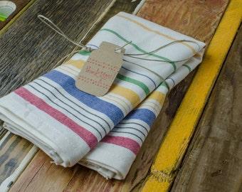Rainbow Tea Towel
